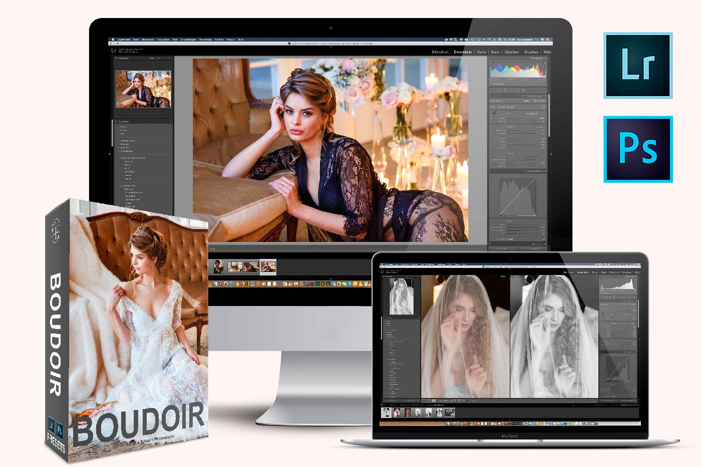 Boudoir Presets für Lightroom und Photoshop