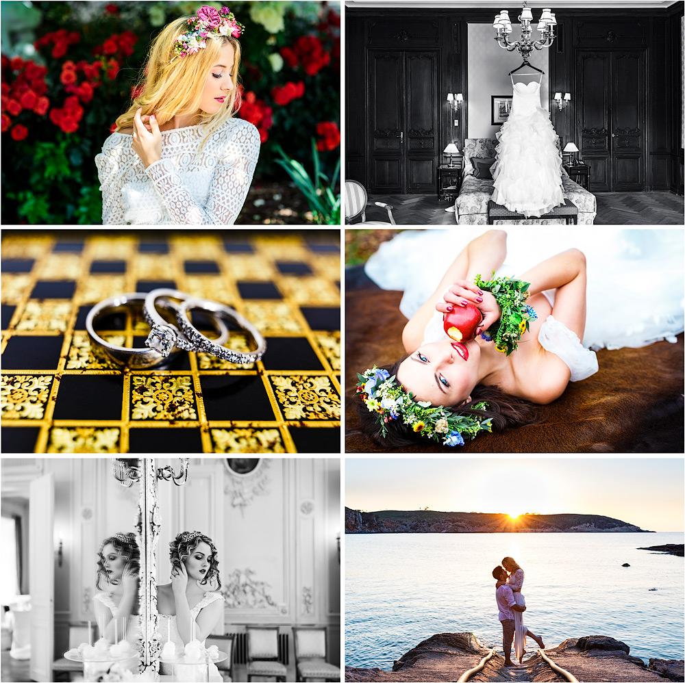 Hochzeitsfotografie Preset-Paket: Presets + Effekte + Pinseln für Adobe Photoshop Lightroom und Camera Raw