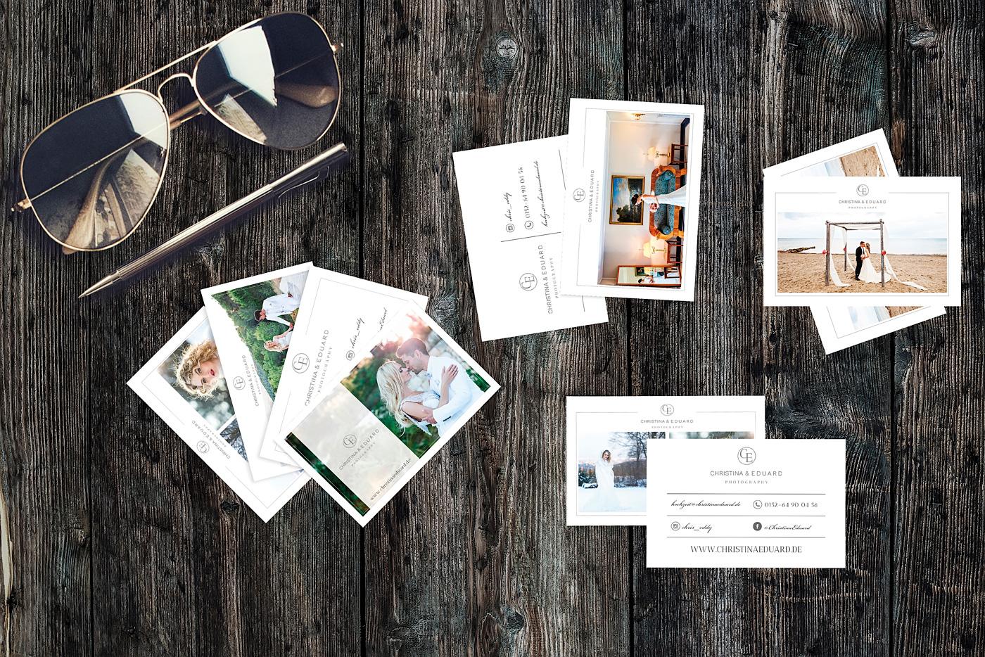 Visitenkarten Photoshop-Vorlagen