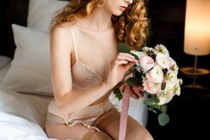 Tipps und Ideen für Brautboudoir im kleinen Hotelzimmer