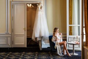 Erfolgreiche Boudoir Fotosession am Hochzeitsmorgen, trotz Zeitmangel