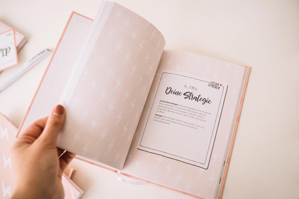 Buch Webseite erstellen die verkauft Mareike Schamberger